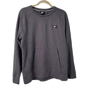 Nike Men's Tech Optic Fleece Crew Neck Sweatshirt